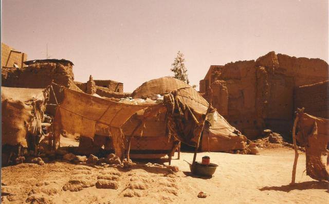 Mali, Tombuctu paisaje urbano 1