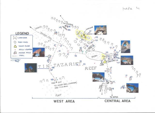 Tassili, mapa 3