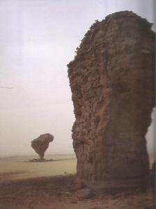 Tassili rocas