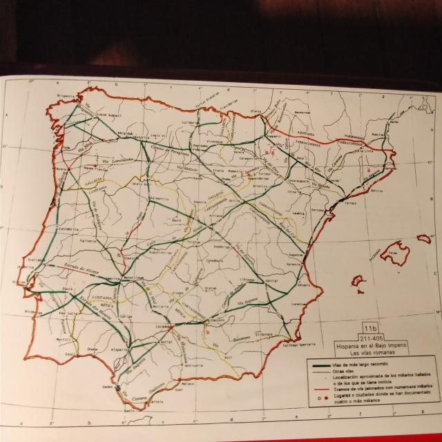 vias romanas en hispania