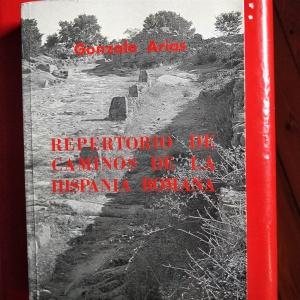 vias romanas. libro de Gonzalo Arias