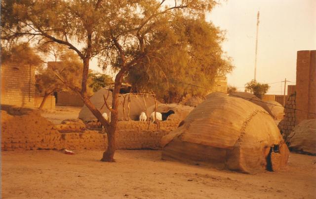 Mali, Tombuctu paisaje urbano 2