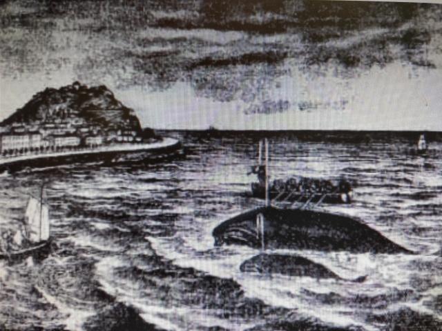 ballenero ría Urumea s XIX