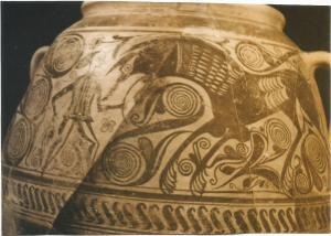 ceramica ibera con lobos0001