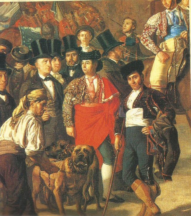 Molosos dogos toros manuel castellano 1853