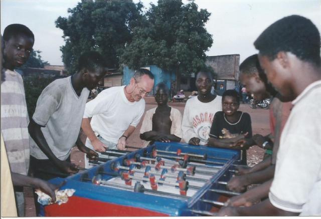 Mali. Bamako futbolin