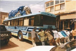 Mali. Bamako los buses 1