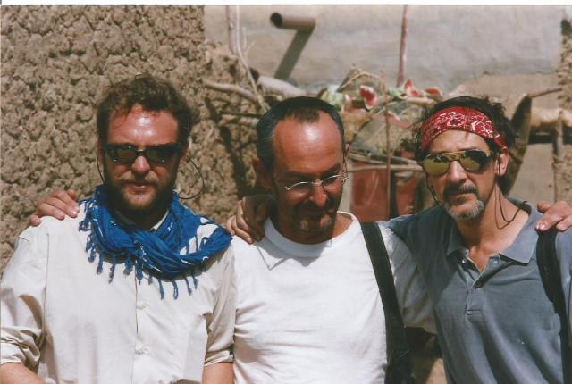 Mali. rio Niger, con Manolo y Jaime