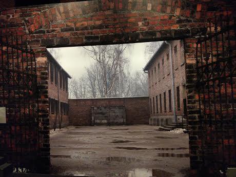Auschwitz, el muro negro
