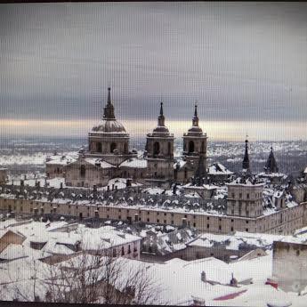 Manuscritos. El Monasterio en invierno