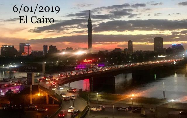 egipto, última tarde desde el hotel