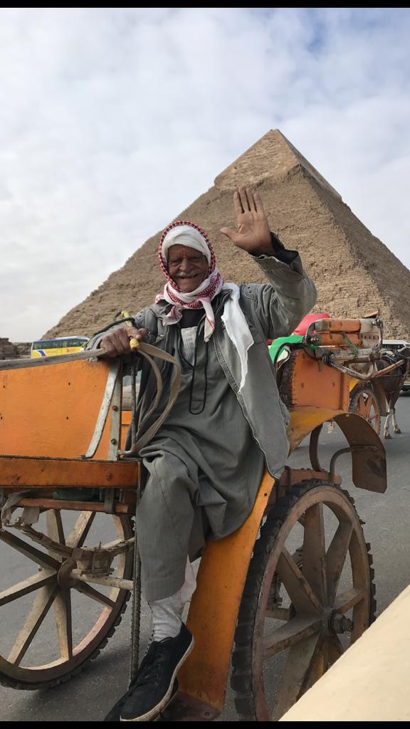 egipto, camellero