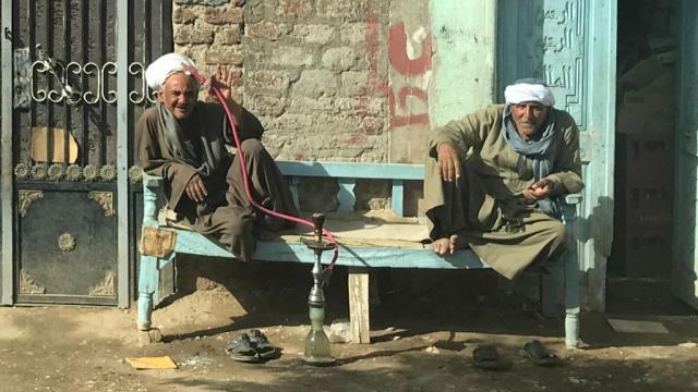 egipto, escena callejera