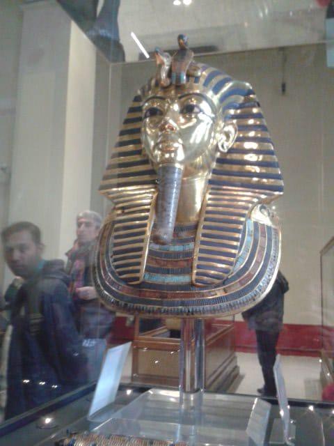 egipto, máscara de tutankamon