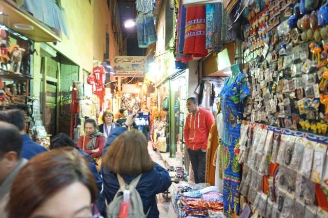 egipto. calle jan el jalili