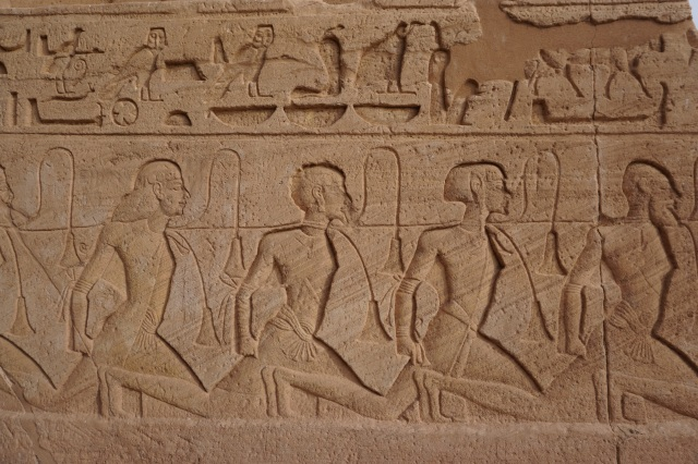 egipto. prisioneros