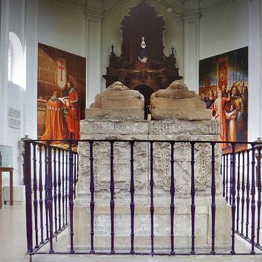 capilla derl Cid y Jimena en Cardeña