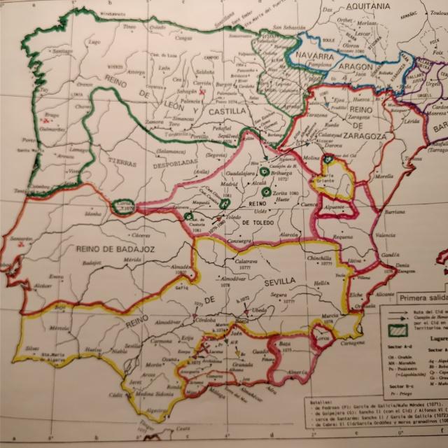 Mapas el Cid