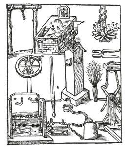 brujería. instrumentos de tortura de Bamberg