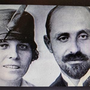 Juan ramón Jiménez y Zenobia Camprubí