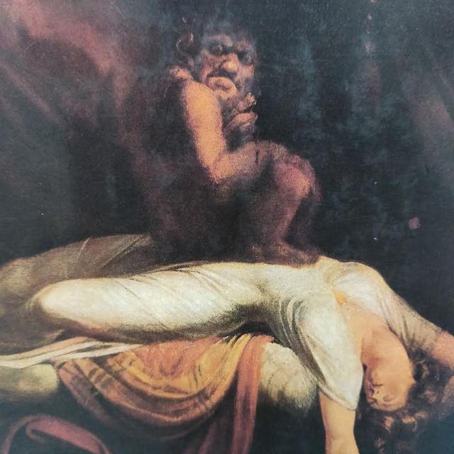 Brujería. La pesadilla, 1781, de Johann Heinrich Füssli