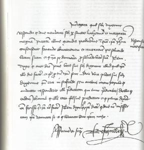 brujería. carta de Juana de Arco