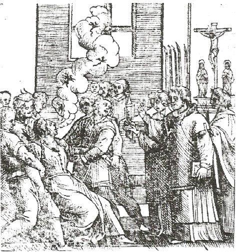 brujería. exorcismo a una monja posesa de Hainaut, 1589