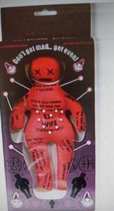 muñeco vudu juguete